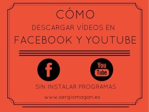 Tutorial para descargar videos en youtube y facebook
