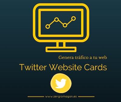 Usa las twitter website cards