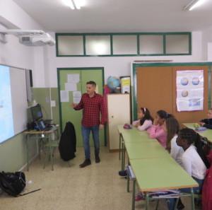 Charla de redes sociales en colegios