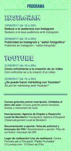curso instagram y youtube